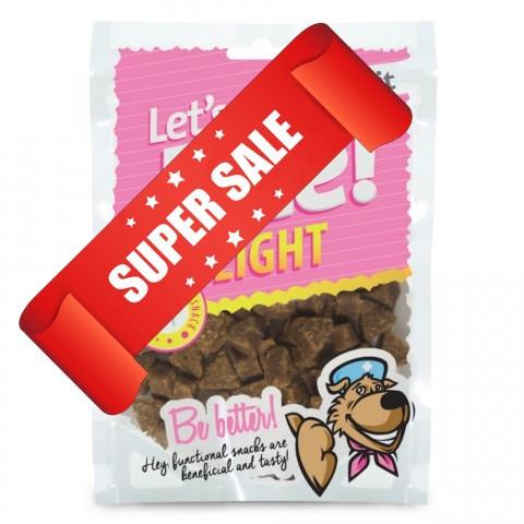 Лакомство для собак с лишним весом Brit Let's Bite Light 150 г