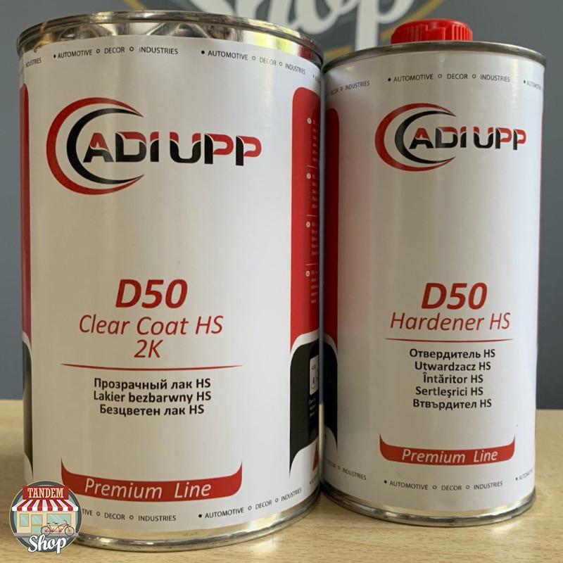 Лак акриловый Adi Upp D50 HS 2:1, 1 л + 500 мл Комплект