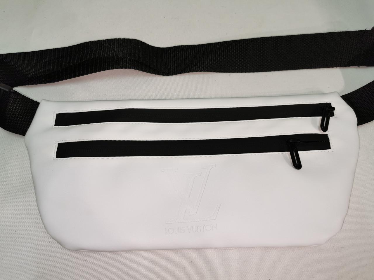 (19*39-большое)Последняя модная унисекс LV сумка на пояс  искусств кожа женский и мужские пояс Бананка оптом