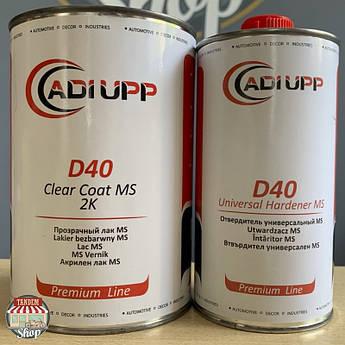 Лак акриловый Adi Upp D40 2:1 MS, 1 л + 500 мл Комплект