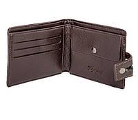 Мужской кошелек коричневый. Кошелёк. Портмоне мужское. Чоловічий гаманець коричневий. Візитниця. Визитница.