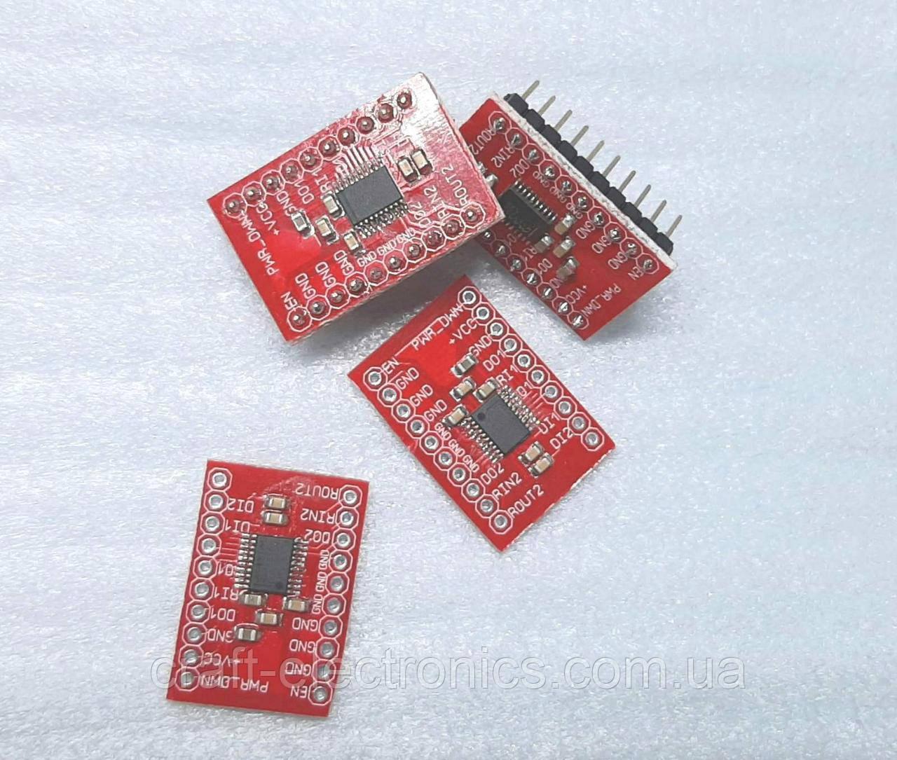 Модуль на микросхеме MAX3222