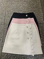 """Юбка-шорты женская короткая с рюшиками размеры S-XL (3цв) """"VIOLA"""" купить недорого от прямого поставщика"""