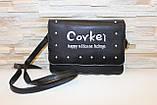 Сумка клатч женская черная код 7-1194, фото 4