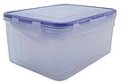Набор контейнеров с зажимами, прямоугольных 3шт, для пищевых продуктов, фото 2