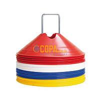 Набор фишек 40 шт. (4*10 шт.) (8 см) b+d Sportartikel - 6057
