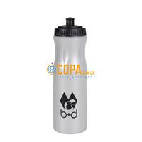 Бутылка для воды (серый) 0,75 л. b+d Sportartikel - 3567