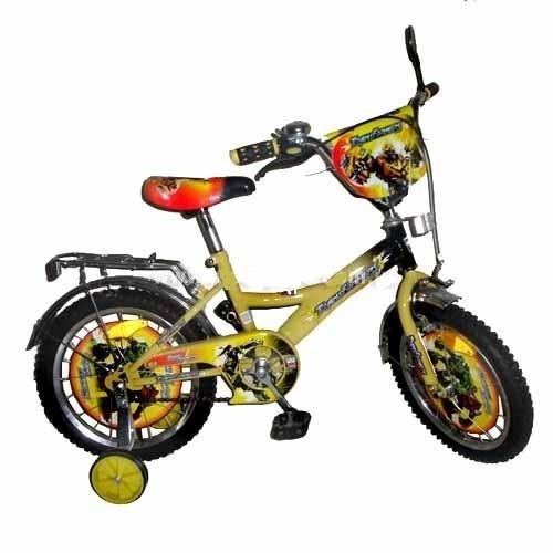 """Велосипед детский 14"""" Трансформеры."""