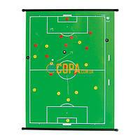 Макет футбольного поля с магнитными фишками b+d Sportartikel - 400 PS
