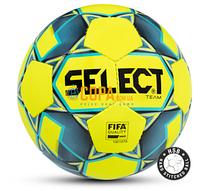 Мяч футбольный Select Team (FIFA APPROVED) (желтый) Размер 5, фото 1