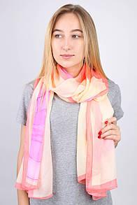 Old Collection FAMO Шарф Молли хризантема  светло-розовый 180*90 (РС3909)