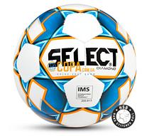 Мяч футбольный Select DIAMOND IMS (white) -  Размер 5