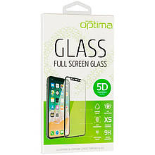 Защитное стекло Optima 5D Full Glue для Xiaomi Redmi 9 Black