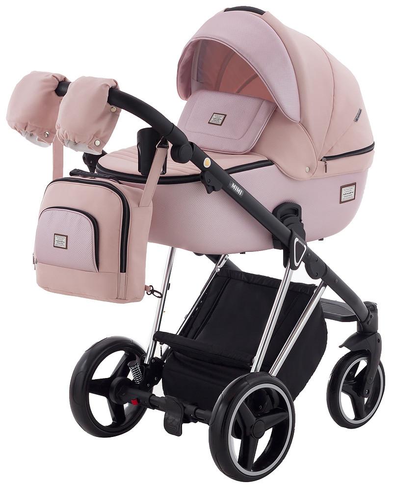 Дитяча коляска 2 в 1 Adamex Mimi Polar (Chrome) CR448