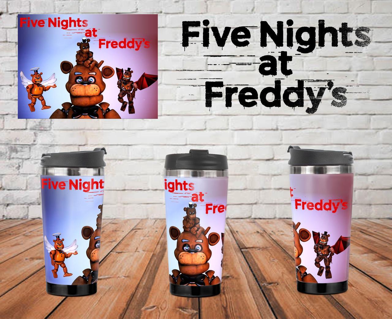 """Термочашка 5 Ночей Фредди """"Аниматроники-4"""" / Five Nights at Freddy's"""
