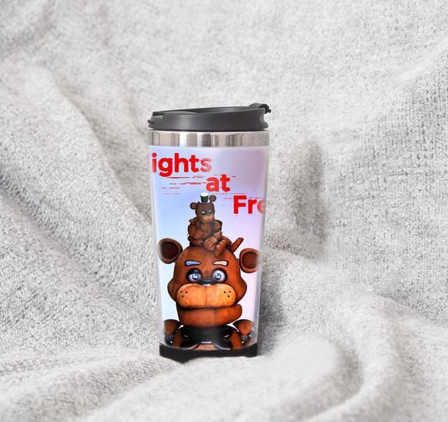 "Термочашка Пять Ночей Фредди ""Аниматроники-4"" / атрибутика из игр  Five Nights at Freddy's"