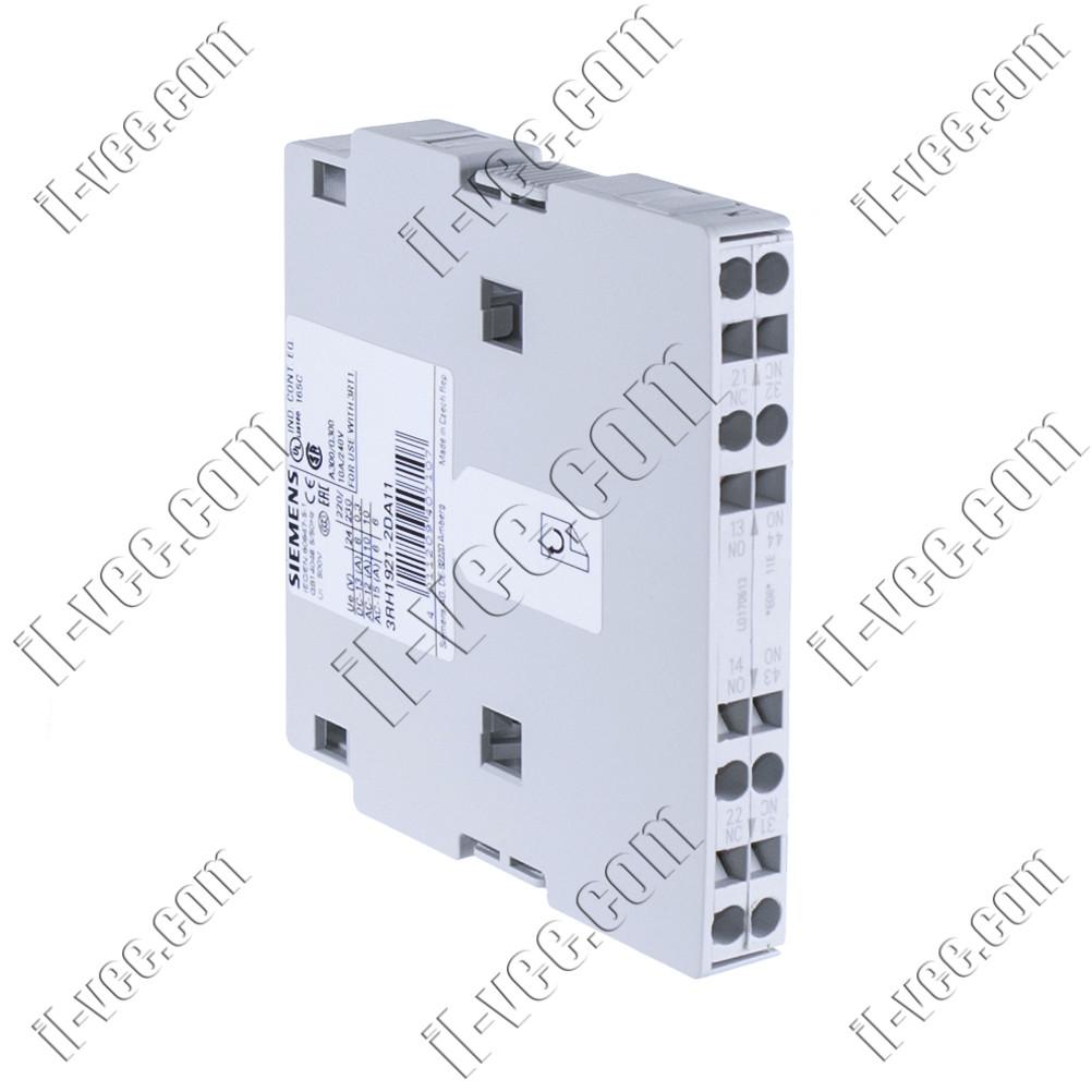 Блок вспомогательных контактов Siemens 3RH1921-2DA11, 1NO+1NC