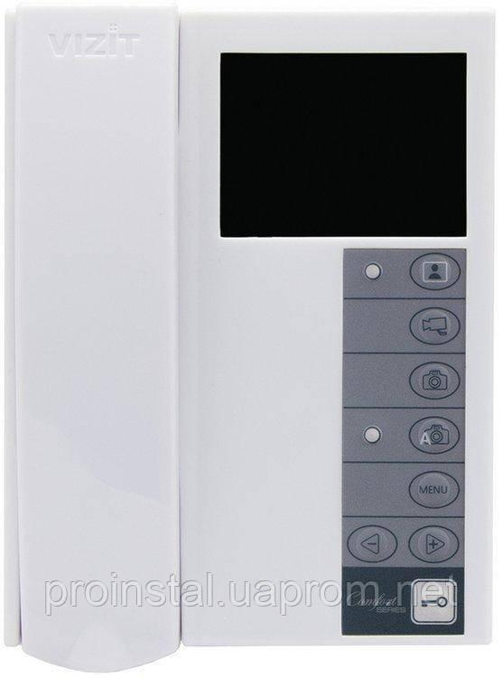 Монитор видеодомофона VIZIT-M442MW