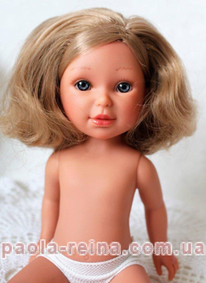Кукла Vestida de Azul Паулина, блондинка с  волнистыми волосами, PAU-D807, 33 см