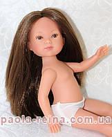 Кукла Карлотта шатенка без челки, CAR-D724, 28 см