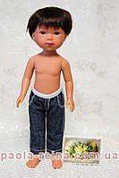 Джинси для ляльки зростанням 28 см, ручна робота 2