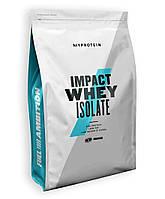 Сывороточный протеин Impact Whey Isolate - 2500g Strawberry-Cream (Клубника со сливками) - MYPROTEIN