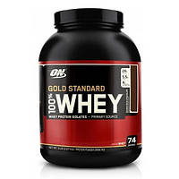 Сывороточный протеин Gold Standard 100% Whey - 2273g Strawberry-banan (Клубника-Банан) - Optimum Nutrition
