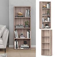 Шкаф для книг, стеллаж для книг, цветов и игрушек с задней стенкой P0074