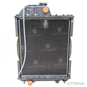 Радиатор водяной МТЗ-80, МТЗ-82 (Д-240, Д-243) 5-ти медный (бачки метал) | 70У.1301.010М5 | Дорожная карта, фото 2