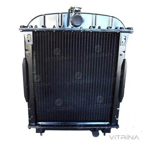 Радиатор водяной ЮМЗ (Д-65) 4-х медный   45-1301.006 (M&Z Factory), фото 2