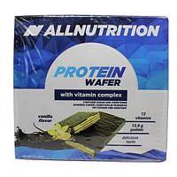 Протеиновый батончик Protein Wafer Bar 32x35g Vanilla (Ваниль) - All Nutrition