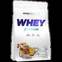 Сывороточный протеин Whey Protein - 2200g Banana-Cookie (Банановое печенье) - All Nutrition