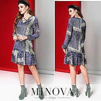 Жіноча сукня Модель №6140-4 (р. 42-46)