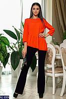 Жіночий костюм сорочка+штани Модель № 6031-2 (р. 42-46)