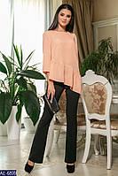 Жіночий костюм сорочка+штани Модель № 6031-3 (р. 42-46)