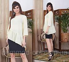 Жіночий костюм сорочка+спідниця Модель № 6031-6 (р. 42-46)