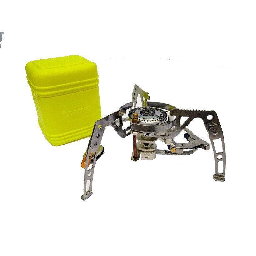 Горелка газовая с пьезоподжигом, со шлангом Tramp TRG-010