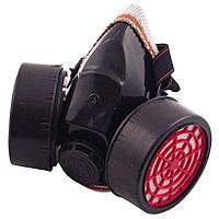 Респиратор с двумя картриджами Intertool - пылевой 2-фильтра | SP-0028