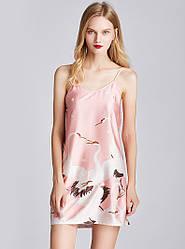 Рубашка ночная женская Stork, розовый Berni Fashion (M)