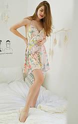 Рубашка женская ночная Bell flower Berni Fashion (S)
