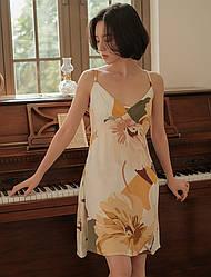 Рубашка ночная женская Flower riot Berni Fashion (S)