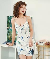 Рубашка ночная женская Fauna, белый Berni Fashion (M)