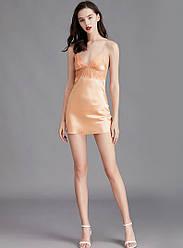 Рубашка ночная женская Lovely, оранжевый Berni Fashion (M)