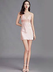 Рубашка ночная женская Lovely, персиковый Berni Fashion (M)