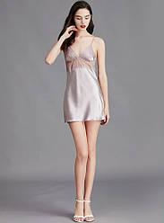 Рубашка ночная женская Lovely, фиолетовый Berni Fashion (M)