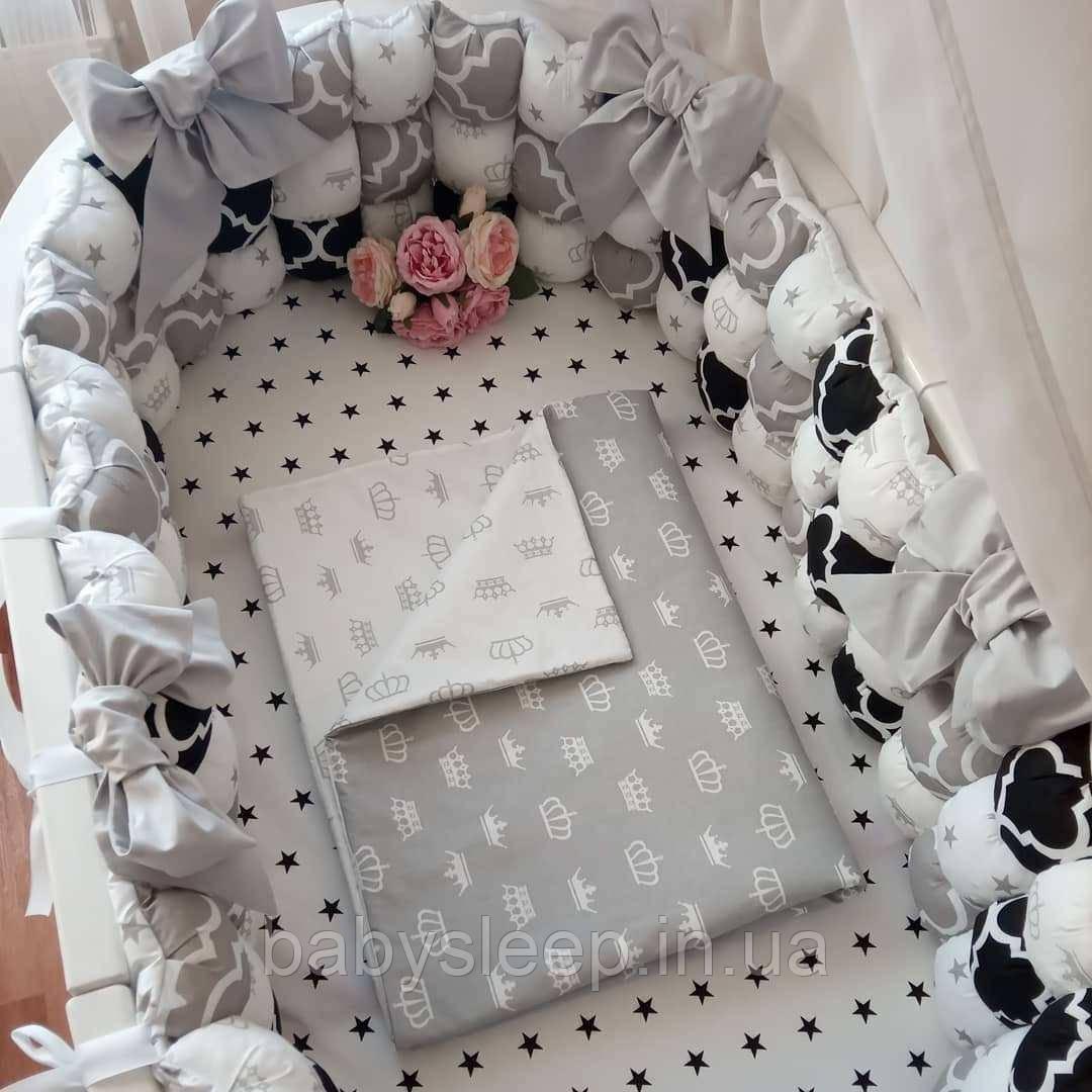 Бортики бом-бон в ліжечко