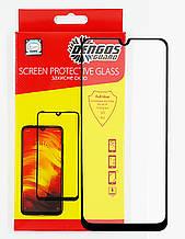 Захисне скло DENGOS Full Glue для Samsung Galaxy A31 (black)