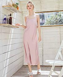 Рубашка ночная женская Grace, розовый Berni Fashion (M)