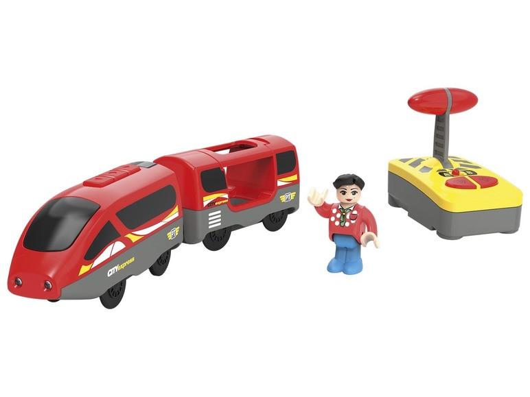 Радиоуправляемый поезд для деревянной железной дороги Playtive Junior Германия