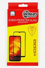 Захисне скло DENGOS Full Glue для Samsung Galaxy A21 (black)